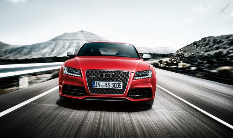 черный автомобиль Audi RS 5  № 3425071 бесплатно
