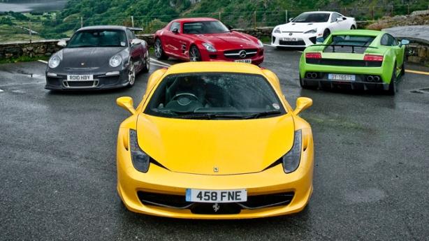 ferrari 458 | top gear uk